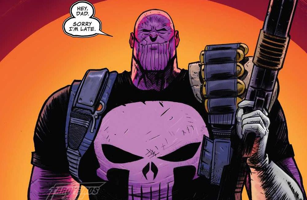 Motoqueiro Fantasma Cósmico é ótimo mesmo - Cosmic Ghost Rider - Marvel Comics - Blog Farofeiros - Thanos Justiceiro