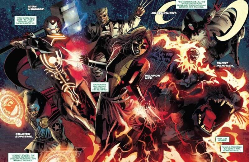 Wolverine loiro - Infinity Warps - Infinity Wars - Guerras Infinitas - Marvel Comics - Blog Farofeiros