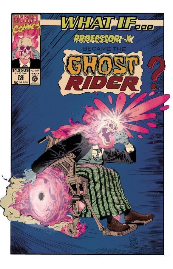 Cadeirante Fantasma - Professor Xavier - Motoqueiro Fantasma - Marvel Comics - Blog Farofeiros