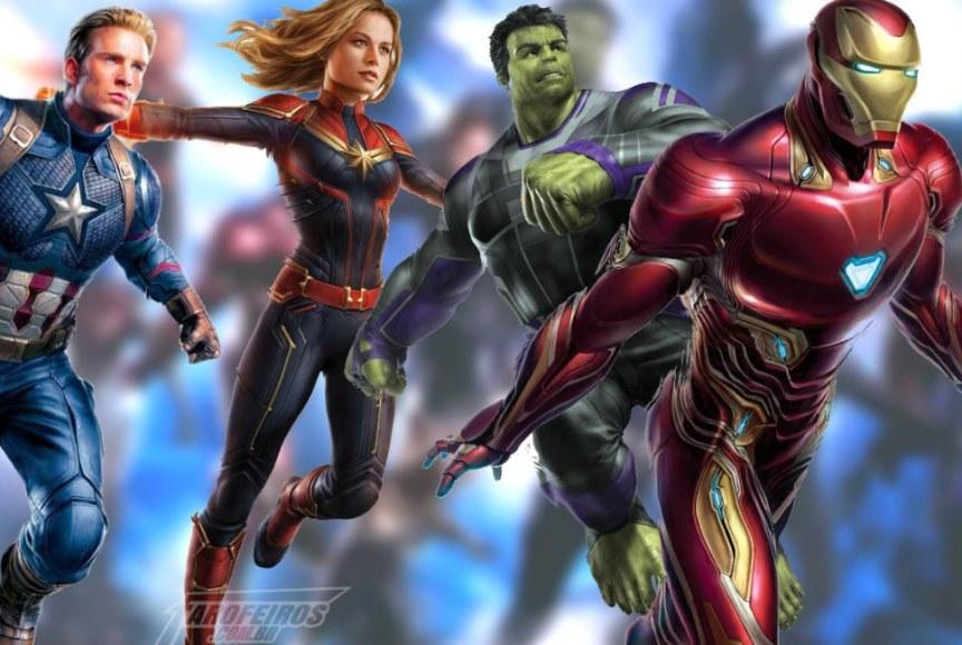 O que vazou de Vingadores 4 - Blog Farofeiros