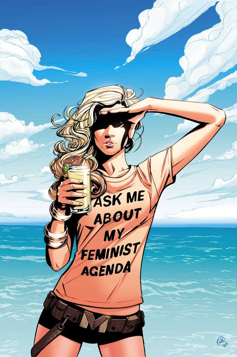 Me pergunte sobre minha agenda feminista - Harpia - Blog Farofeiros
