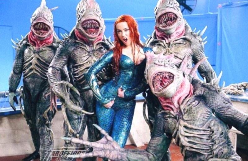 Mera se envolvendo com o inimigo - Aquaman - Blog Farofeiros