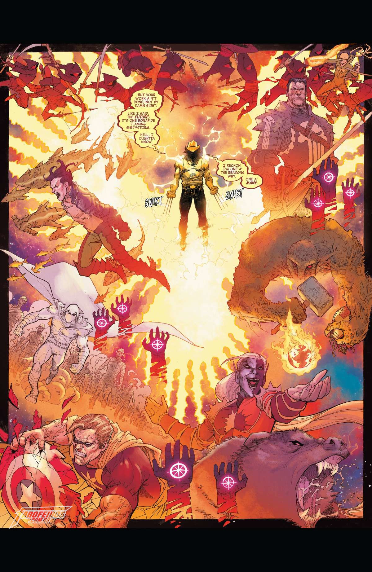 O que está por vir na Marvel em 2019 - Avengers #10 - Vingadores - Wolverine Força Fênix - Blog Farofeiros