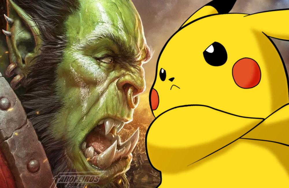 Você jogaria WoWkemon - Pokemon - World of Warcraft - Blog Farofeiros
