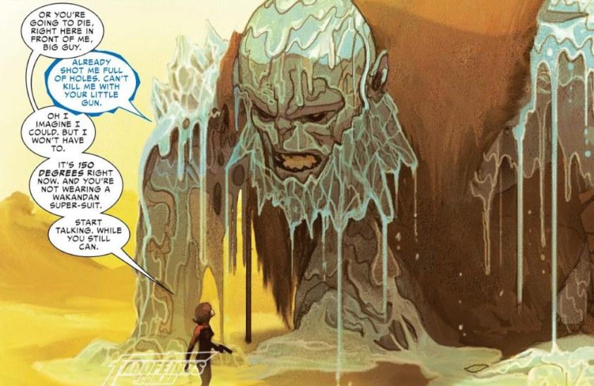 Agente Solomon - Vingadores - Agentes de Wakanda - Blog Farofeiros