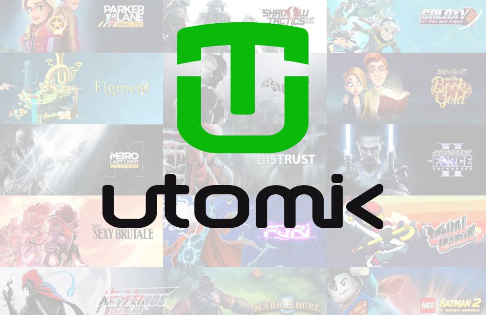 Utomik - Logo tipo - Blog Farofeiros