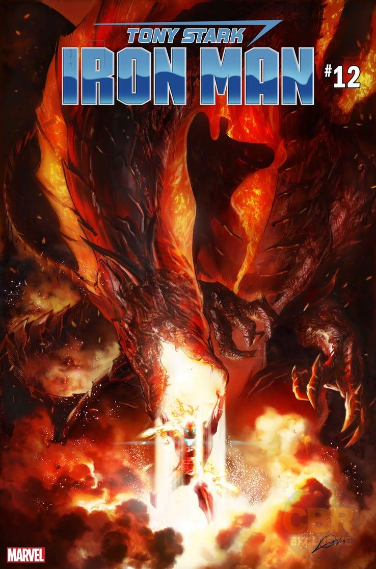 Guerra dos Reinos - War of the Realms - Iron Man #12 - Homem de Ferro - Blog Farofeiros