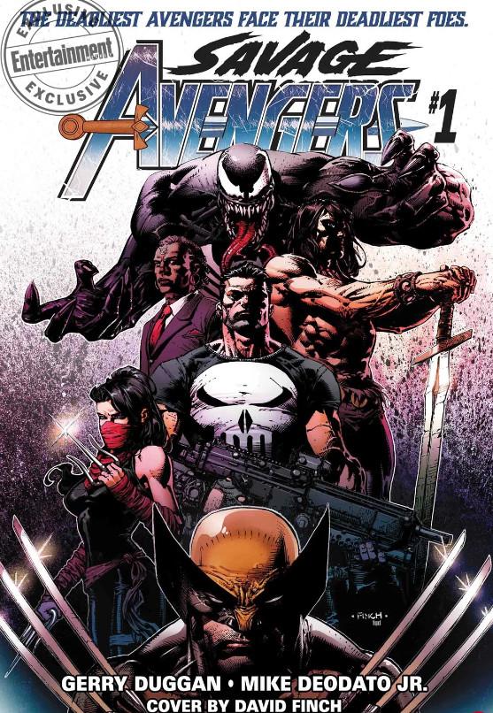 Savage Avengers - Vingadores Selvagens - Conan - Wolverine - Blog Farofeiros