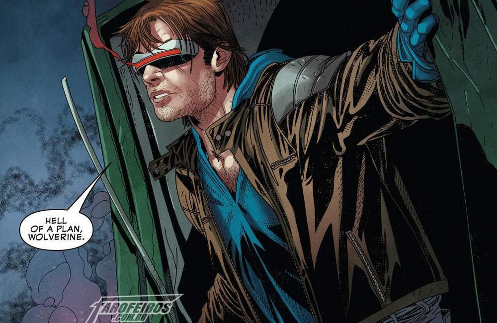 Uncanny X-Men #12 - A Volta dos X-Men - Ciclope - Blog Farofeiros