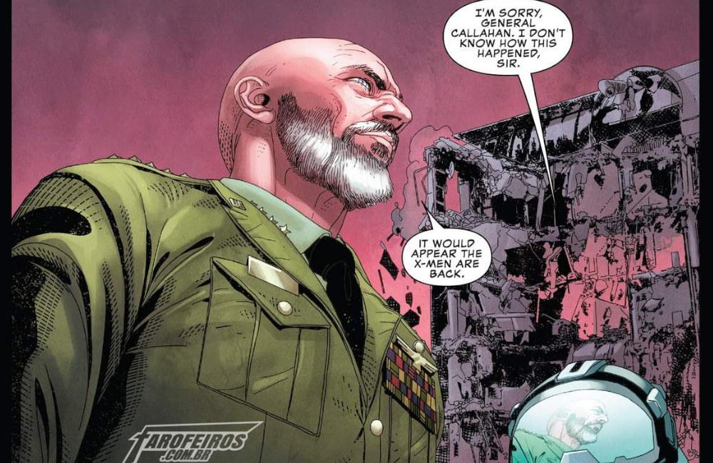 Uncanny X-Men #12 - A Volta dos X-Men - General Callahan - Blog Farofeiros