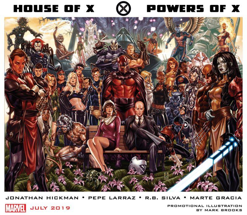 Jonathan Hickman escreverá X-Men - Casa de X - Poderes de X - Blog Farofeiros