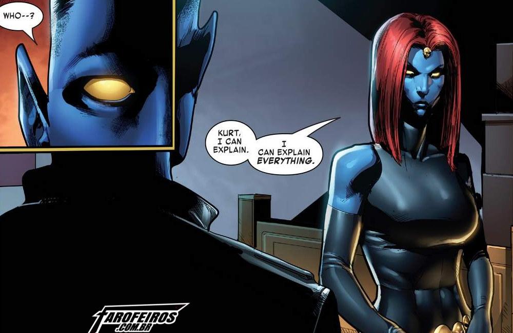 Outra Semana nos Quadrinhos #9 - The Amazing Nightcrawler #2 - Noturno - Mística - Blog Farofeiros