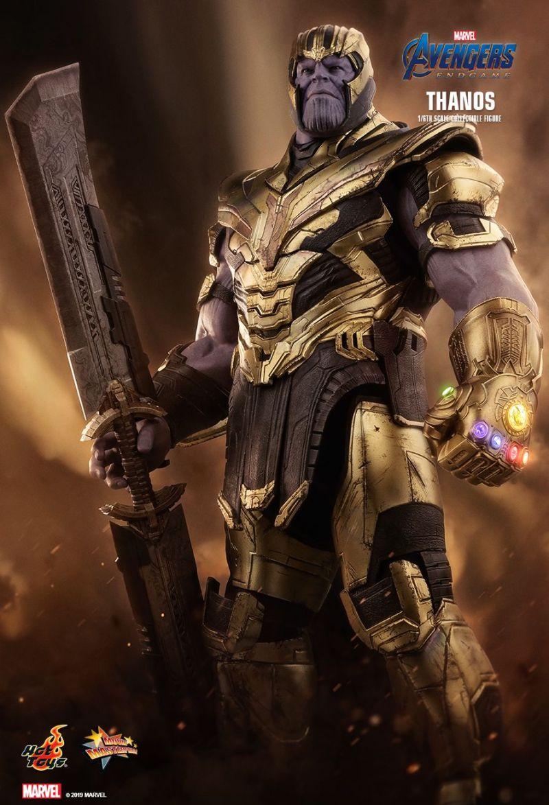 Thanos da Hot Toys de Ultimato - Vingadores - Blog Farofeiros