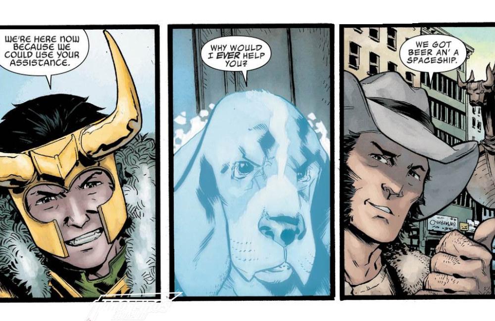 Outra Semana nos Quadrinhos #13 - Wolverine - Infinity Watch #3 - Loki - Blog Farofeiros