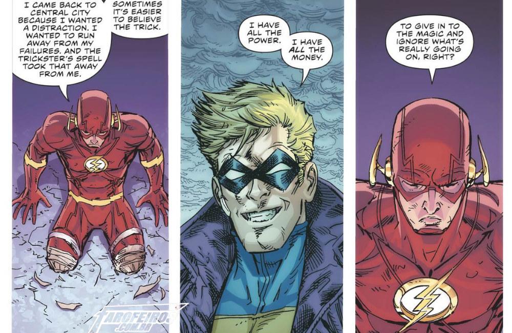 Outra Semana nos Quadrinhos #14 - Flash #69 - Blog Farofeiros