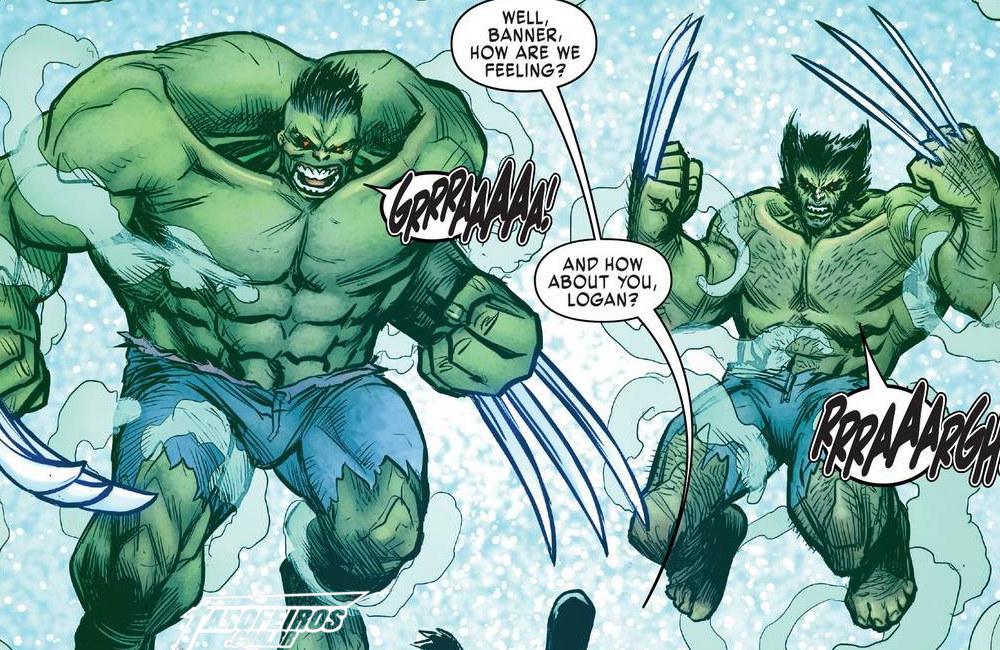 Outra Semana nos Quadrinhos #14 - Hulkerines #3 - Hulk - Wolverine - Blog Farofeiros