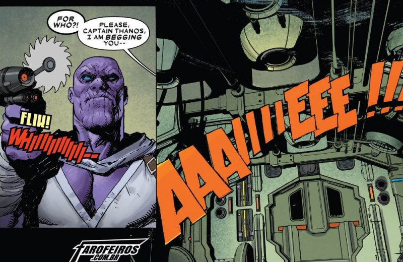 Outra Semana nos Quadrinhos #14 - Thanos #1 - Blog Farofeiros
