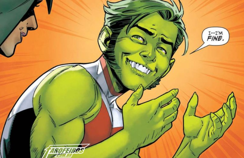 Titans #36 - Mutano - Beast Boy - Blog Farofeiros