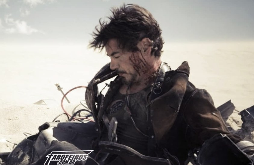 Vingadores - Ultimato - Tony Stark - Homem de Ferro - Blog Farofeiros
