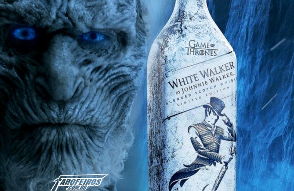 Whisky de Game of Thrones - White Walker - Johnnie Walker - Blog Farofeiros