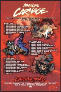 Carnificina Absoluta - Absolute Carnage - Lançamentos - Blog Farofeiros