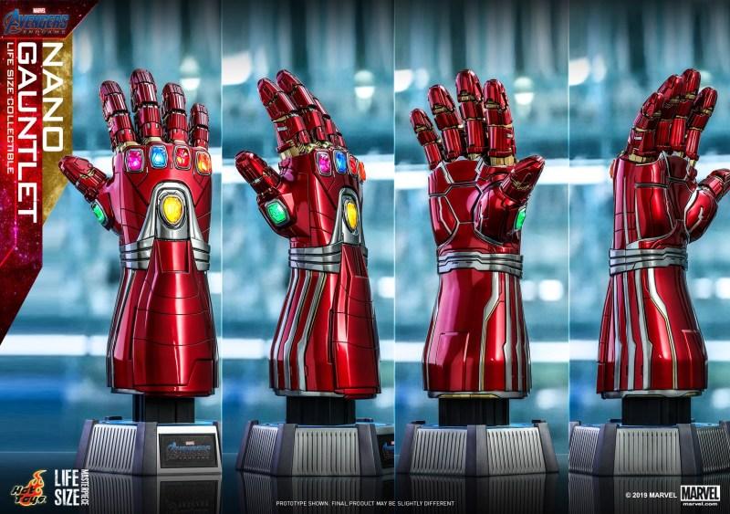 Nano Gauntlet - Manopla de Tony Stark - Vingadores - Ultimato - Tamanho real - Blog Farofeiros