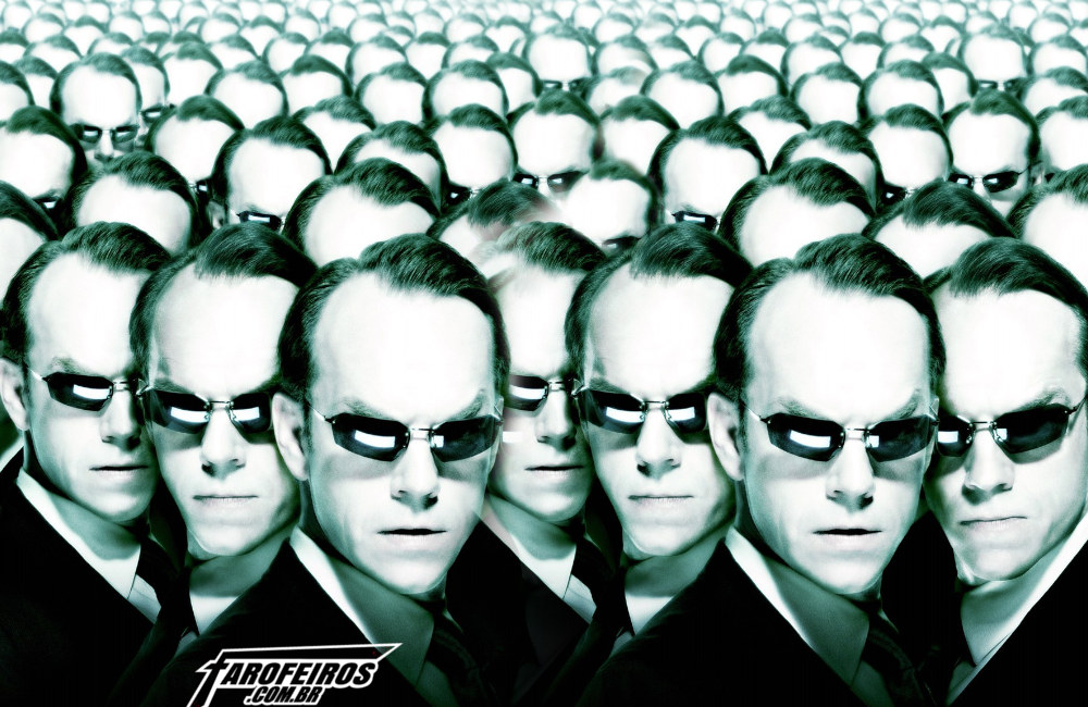 O mundo fora da Matrix - Agente Smith - Blog Farofeiros