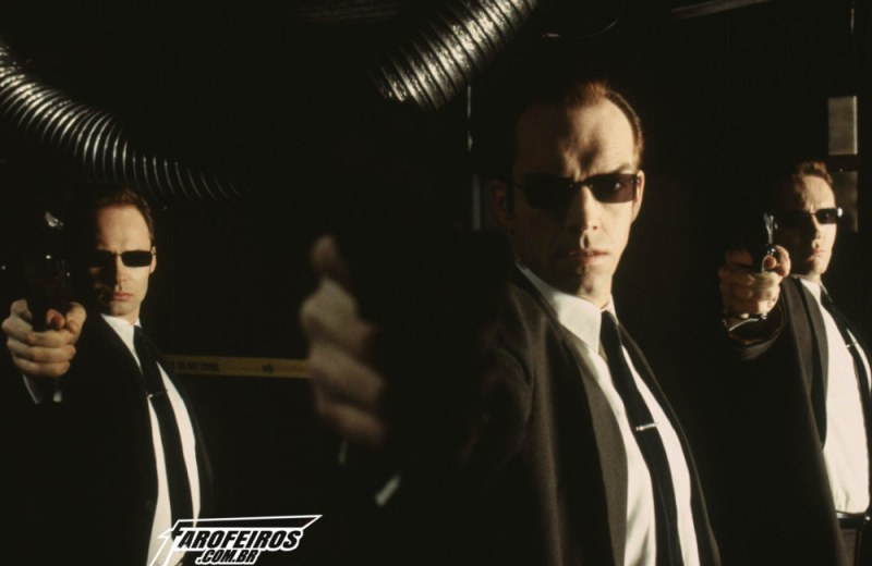 O mundo fora da Matrix - Agente Smith - Blog Farofeiros