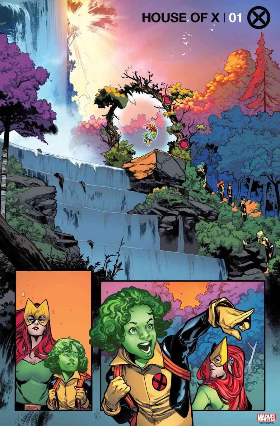 Os X-Men de Jonathan Hickman - House of X #1 - Arte interna 1 - Blog Farofeiros