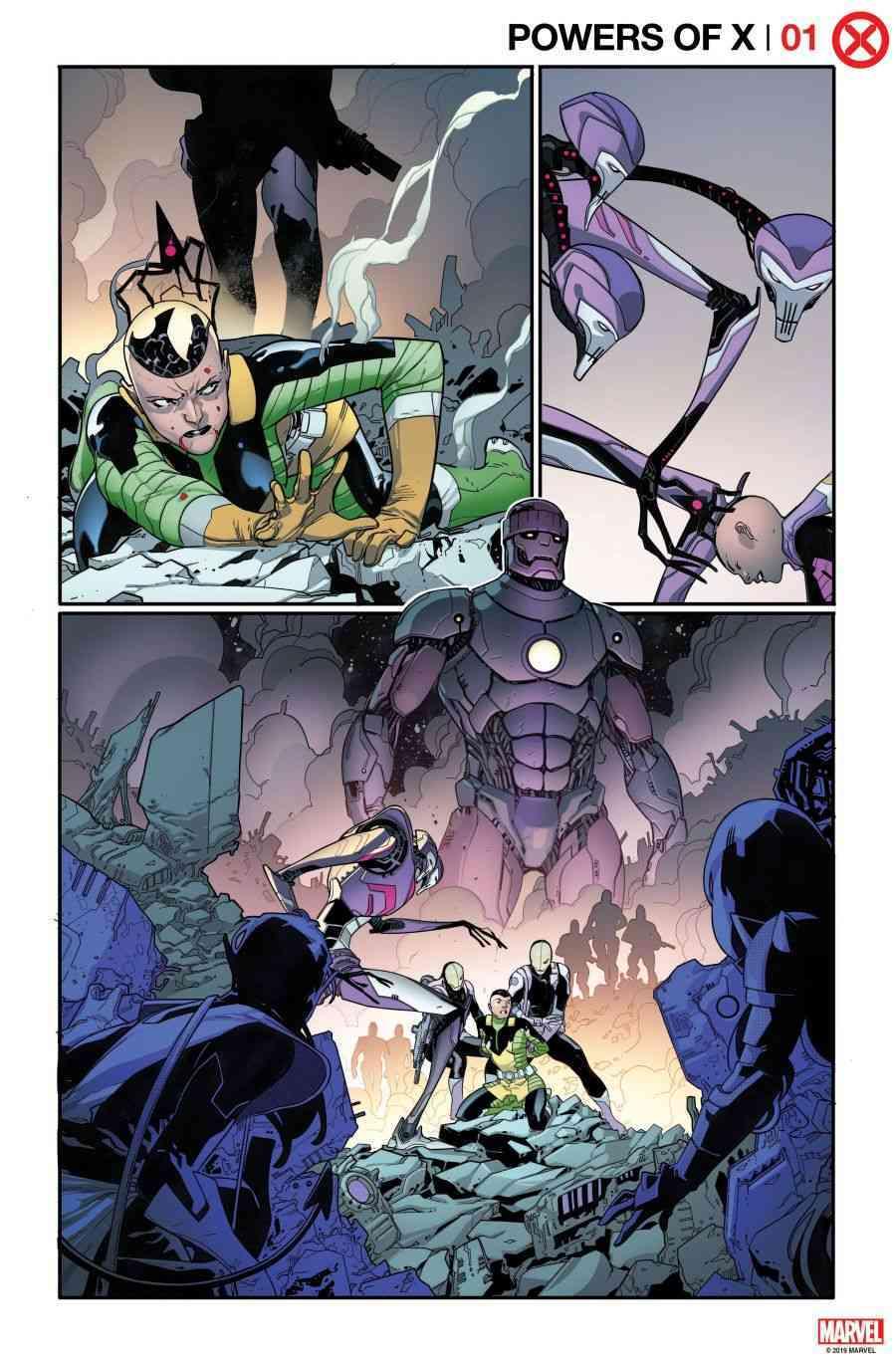 Os X-Men de Jonathan Hickman - Powers of X #1 - Arte interna 1 - Blog Farofeiros