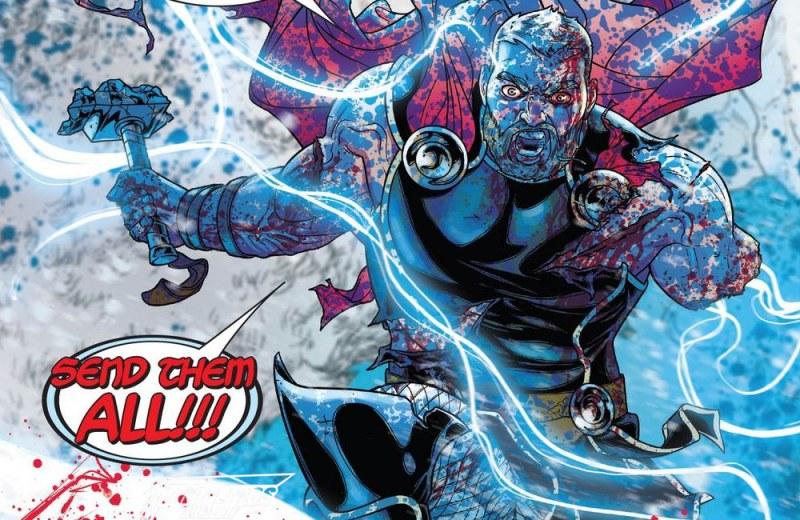 Outra Semana nos Quadrinhos #15 - War of the Realms #3 - Thor - Blog Farofeiros