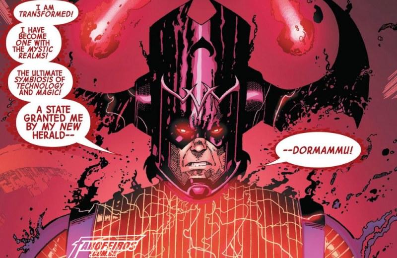 Outra Semana nos Quadrinhos #18 - Doctor Strange #14 - Galactus - Blog Farofeiros
