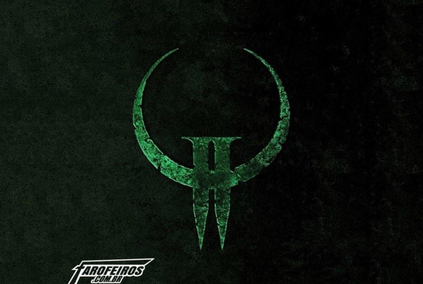 Quake 2 Logo - Blog Farofeiros