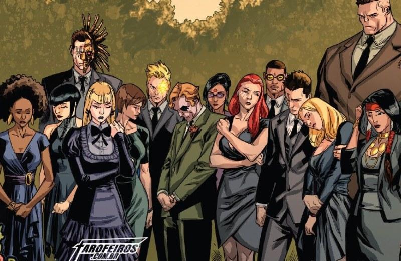 Muitas mortes em Uncanny X-Men - Velório - Blog Farofeiros
