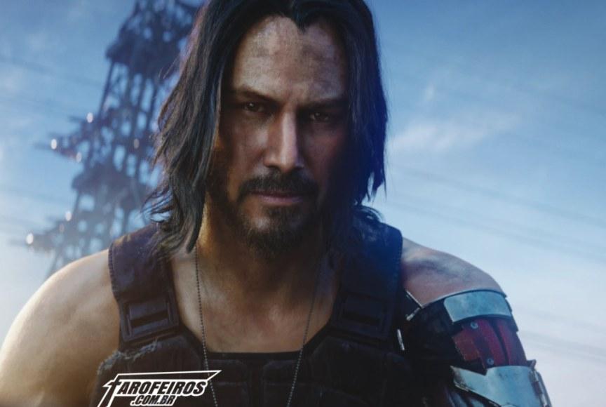 O que há de errado em Cyberpunk 2077 - Johnny Silverhand - Keanu Reeves - Blog Farofeiros