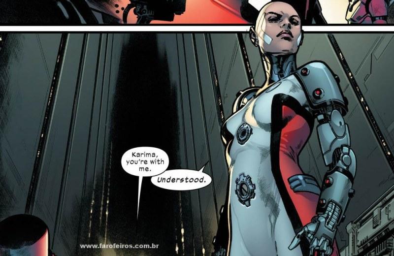 Detalhes de House of X - Karima - Orquídea - Casa de X - X-Men - Marvel Comics - Blog Farofeiros