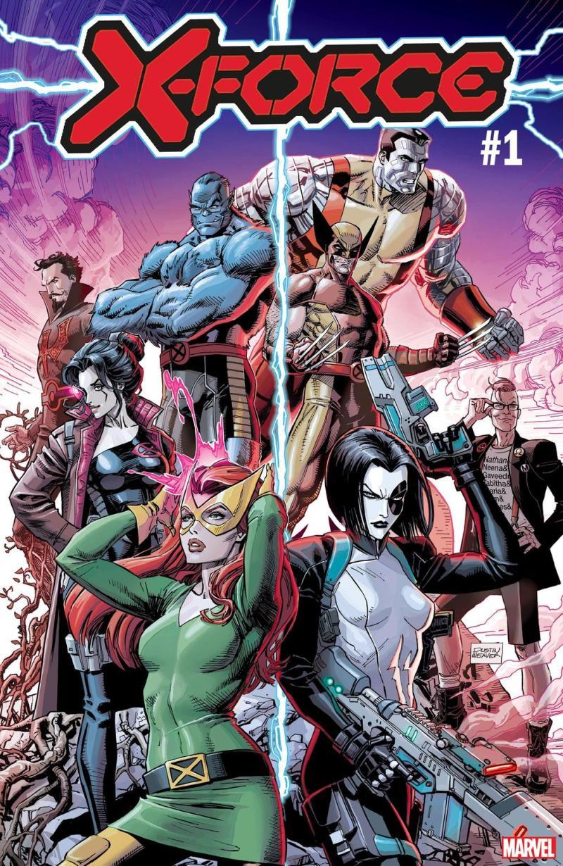 Marvel Comics na SDCC 2019 - X-Men - X-Force #1 - Blog Farofeiros