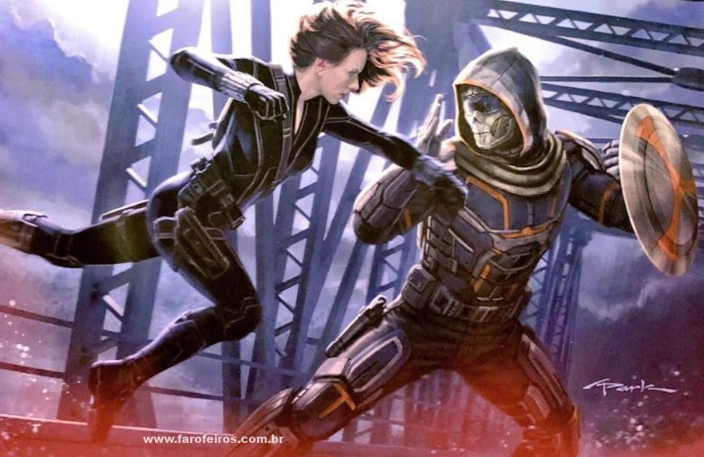 Marvel Studios na SDCC 2019 - Viúva Negra - Black Widow - Treinador - Taskmaster - Blog Farofeiros
