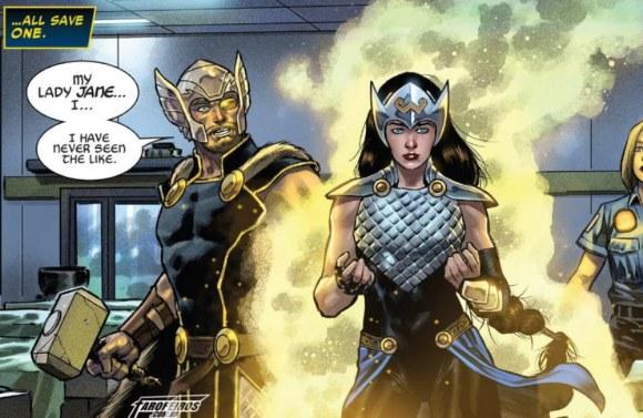 O final de Guerra dos Reinos - Jane Foster - Valquíria - Blog Farofeiros