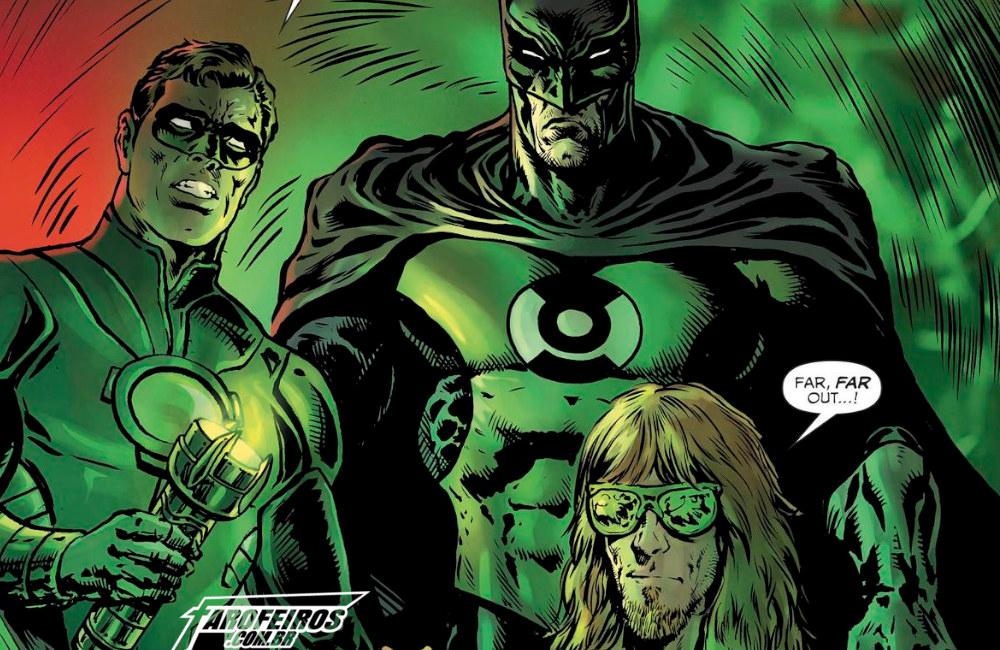 Outra Semana nos Quadrinhos #20 - The Green Lantern #9 - Lanterna Verde - Blog Farofeiros
