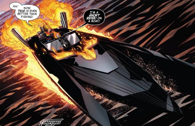 Outra Semana nos Quadrinhos #21 - Avergers #21 - Vingadores - Motoqueiro Fantasma - Blog Farofeiros