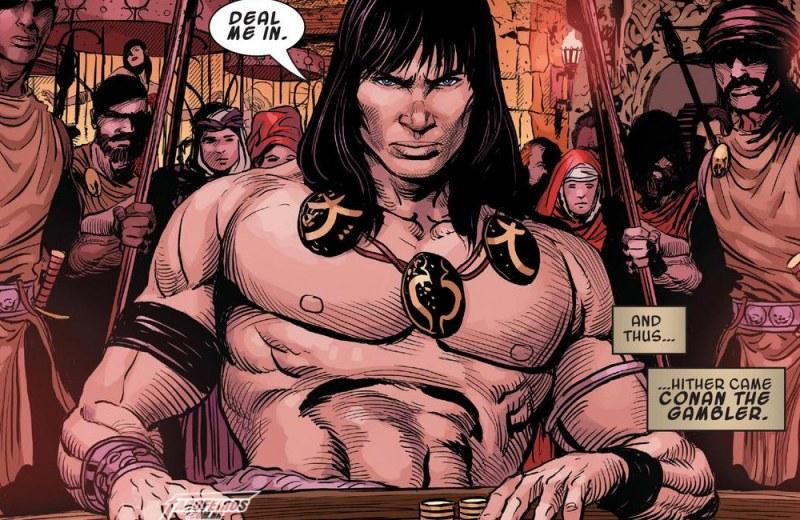Outra Semana nos Quadrinhos #21 - Savage Sword of Conan #7 - Blog Farofeiros