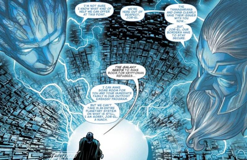 Outra Semana nos Quadrinhos #21 - Superman #13 - Jor El - Blog Farofeiros