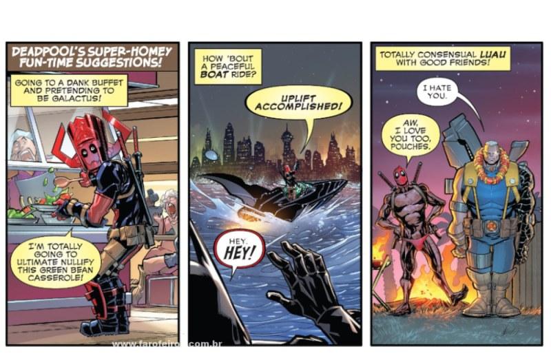 Deadpool - Marvel Comics #1000 - Blog Farofeiros