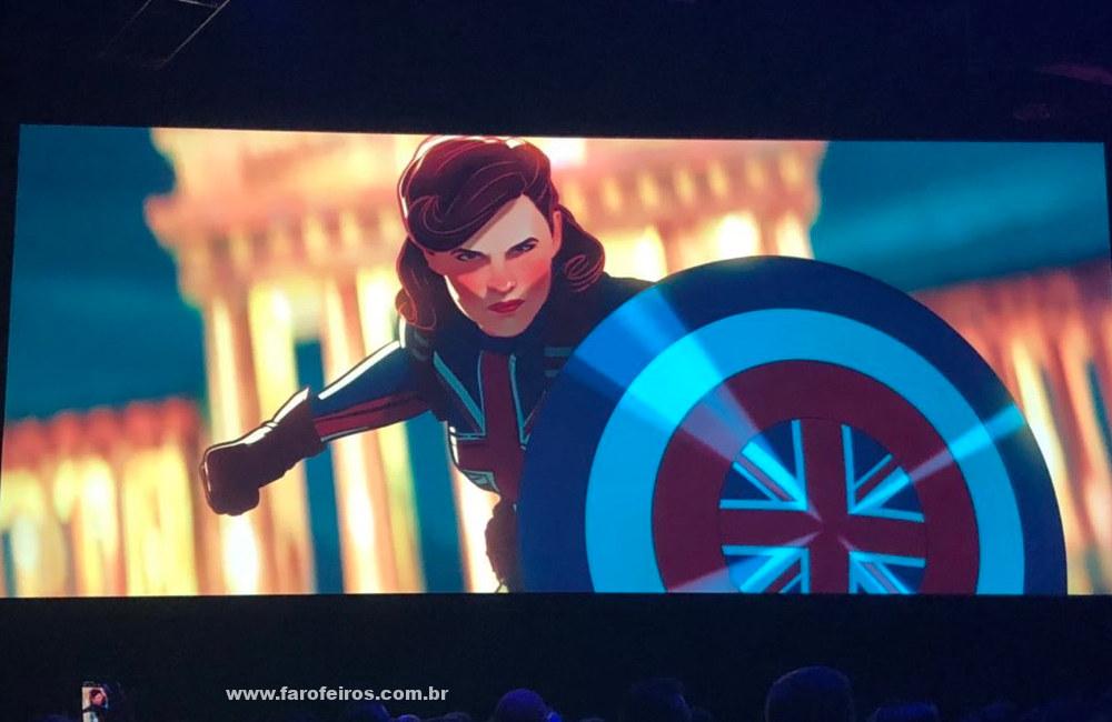 Novidades das séries da Marvel Studios na D23 Expo 2019 - Peggy Carter - What If - Blog Farofeiros