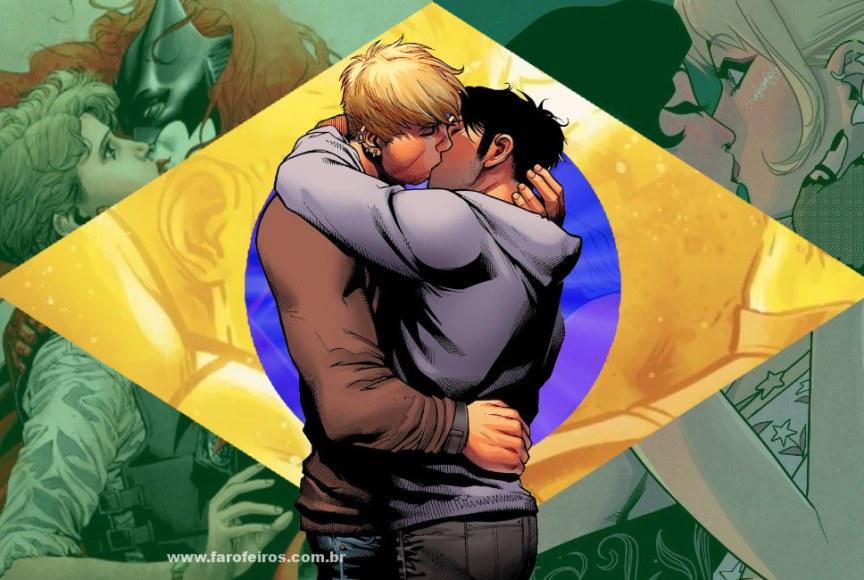 Beijo gay nas histórias em quadrinhos - Brasil - LGBTQ+ - Blog Farofeiros