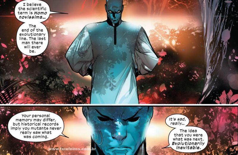 Bibliotecário - Detalhes de Powers of X - Poderes dos X - X-Men - Marvel Comics - Blog Farofeiros