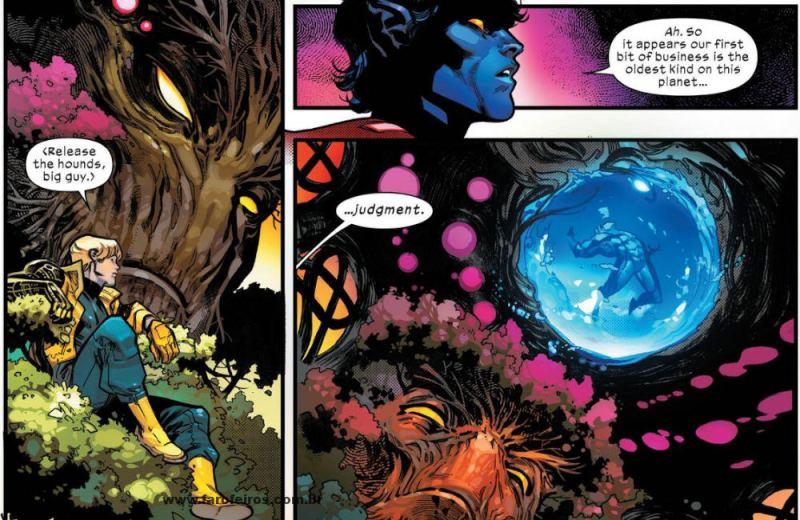 Cifra - Krakoa - Julgamento - X-Men - O Conselho de Krakoa - Blog Farofeiros