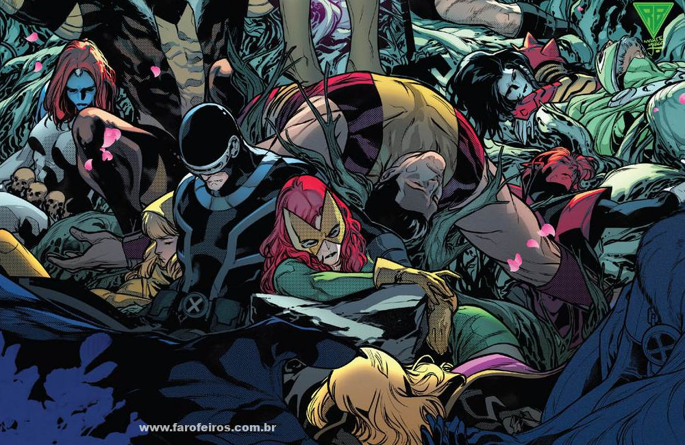 Detalhes de Powers of X - Poderes dos X - X-Men mortos - Marvel Comics - Blog Farofeiros