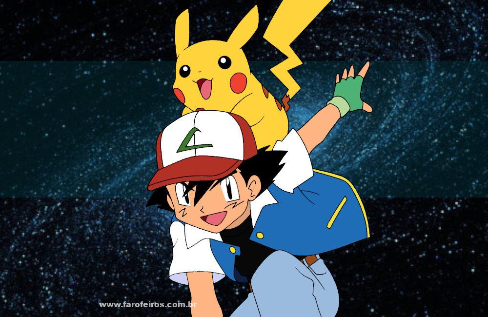 Este artigo não vai te transformar em um Mestre Pokemon - Ash Ketchum - Pikachu - Blog Farofeiros